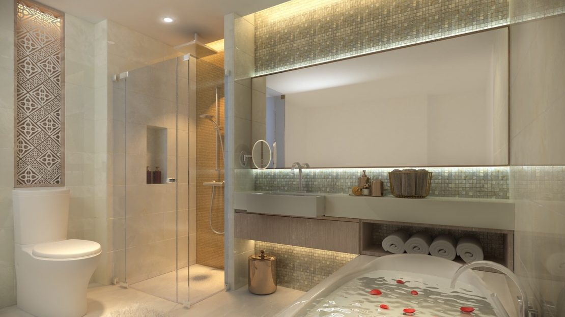 Beachfront easyliving Phuket investment thailand bathroom bedroom
