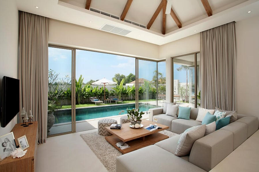 Easy living phuket living room high investment